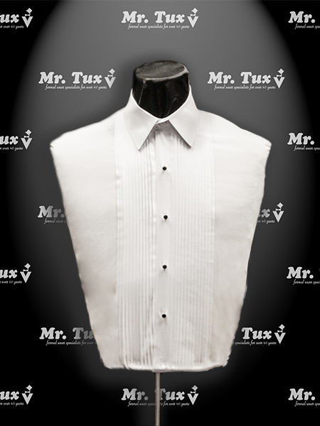 White Lay Down Collar Shirt