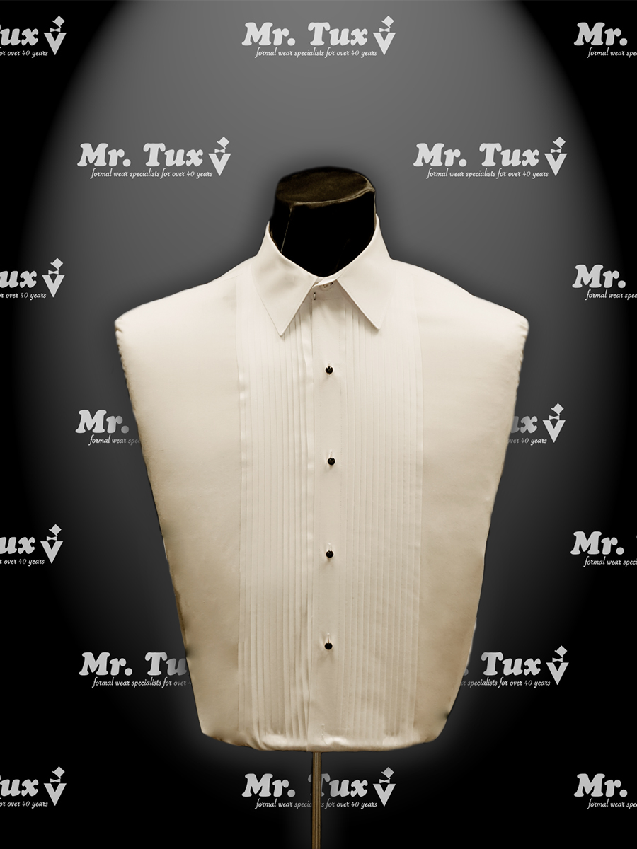 Ivory Wing Collar Shirt