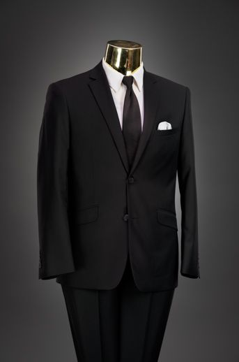 Black Slim Fit Suit