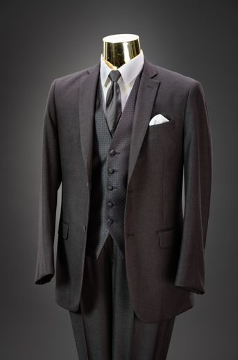 Medium Grey Slim Fit Suit